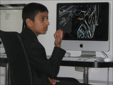 Sulaymaan from Brentside High School in Ealing, London.