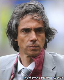 Manager Paulo Sousa has two years to run on his Swansea contract