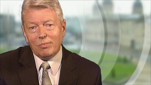 Shadow home secretary Alan Johnson