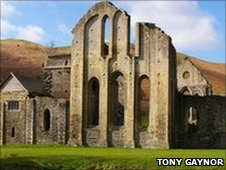 Valle Crucis Abbey, courtesy Tony Gaynor
