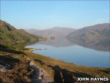 Loch Morar. Photo copyright John Haynes