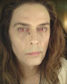 Peter Murphy in his Eclipse make-up