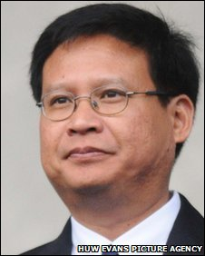 Cardiff City chairman Dato Chan Tien Ghee