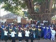 Choirs under the tree David Livingstone and Hastings Banda once took shade under