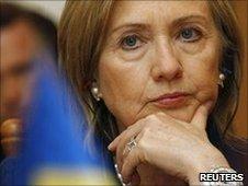 Hillary Clinton in Kiev, 2 July 2010