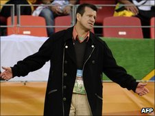 Brazil coach Dunga
