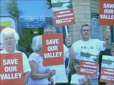 Save Our Valley protest group