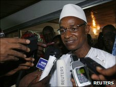 Former Guinean PM Cellou Dalein Diallo - 3 July 2010