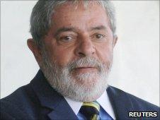 Brazilian President Lula da Silva (file photo)