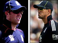 Graeme Swann and kevin Pietersen