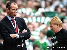 Paul Le Guen and Gordon Strachan