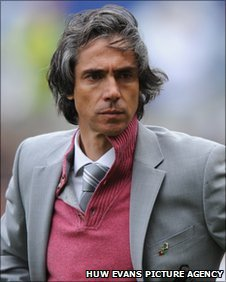 Former Swansea City manager Paulo Sousa