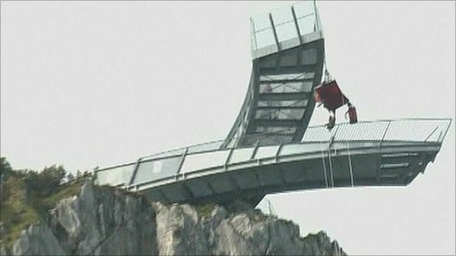 Mountain platform in Germany