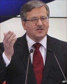 Bronislaw Komorowski, March 2010