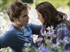 Kristen Stewart and Robert Pattinson in The Twilight Saga: Eclipse. Photo: Summit Entertainment
