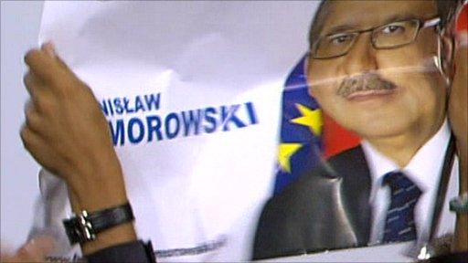 Komorowski supporters