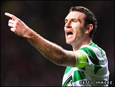 Stephen McManus was Celtic captain