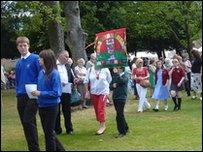Gorymdaith Cyhoeddi Eisteddfod 2011