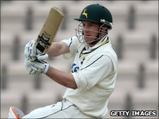 Nottinghamshire captain Chris Read