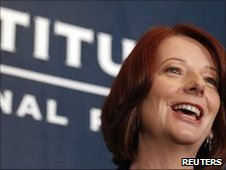 Australian PM Julia Gillard at Lowy Institute 6 July 2010
