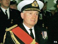 Lord Admiral Sir Jock Slater