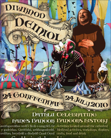A picture oDeiniol Day poster