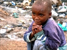 Child in Kibera, Nairobi