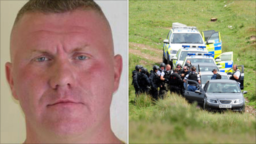 Raoul Moat and crime scene