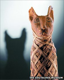 Egyptian cat (Image: Deutsches Museum)