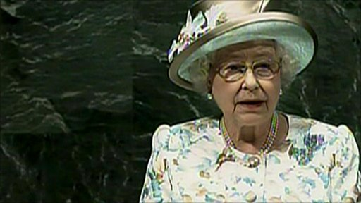 The Queen addresses the UN General Assembly