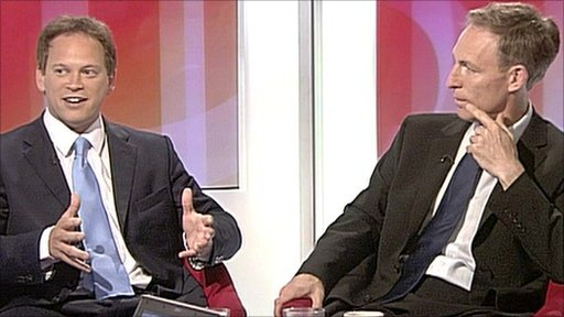 Grant Shapps and Jim Murphy