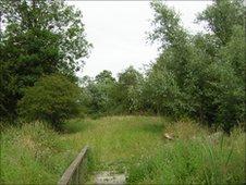 Rampton castle site