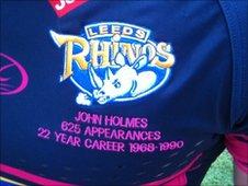 Leeds Rhinos special shirt