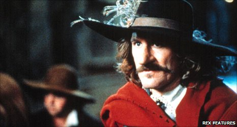 Gerard Depardieu as Cyrano de Bergerac