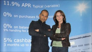 Rajan Datar and Clare Francis