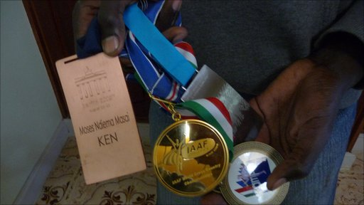 Moses Masai's medals