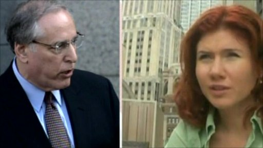 Attorney Robert Baum and Anna Chapman