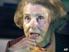 Liliane Bettencourt (File photo from 4 March 2010)