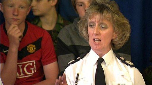 Temporary Chief Constable Sue Sim