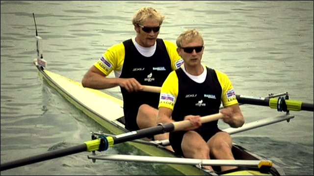 Hamish Bond and Eric Murray