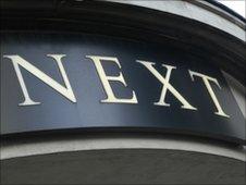 Next shop front