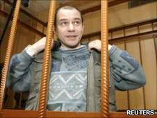 Igor Sutyagin in a Moscow court in April 2004