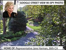 Congresswoman Harman's home