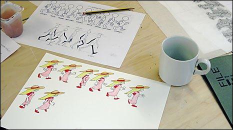 Drawings for Loricum video game