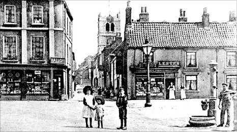 Archive photograph of Thorne, Market Place