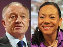 Ken Livingston and Oona King