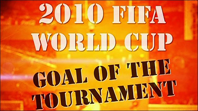 World Cup Goal. World Cup 2010 - Goals of the