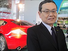 For chief designer for Toyota, Hideichi Misono