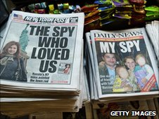 US newspaper headlines