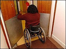 pupil in wheelchair